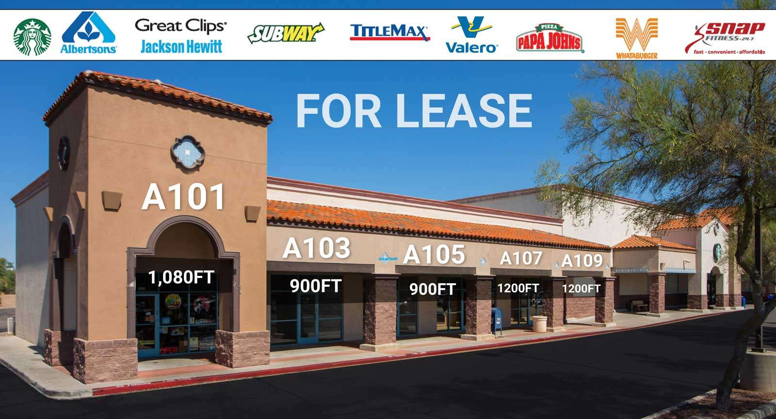 Commercial For Lease tucson